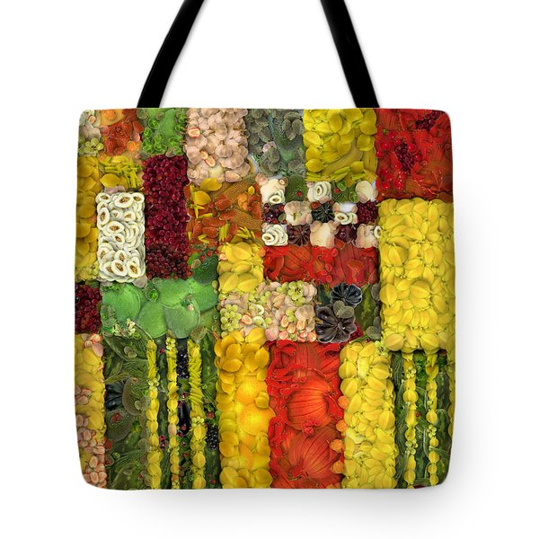 Vegetable Abstract Tote Bag