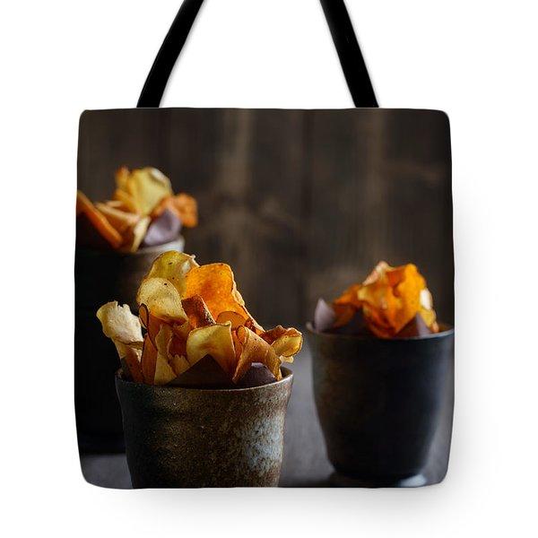 Vegetable Crisps Tote Bag