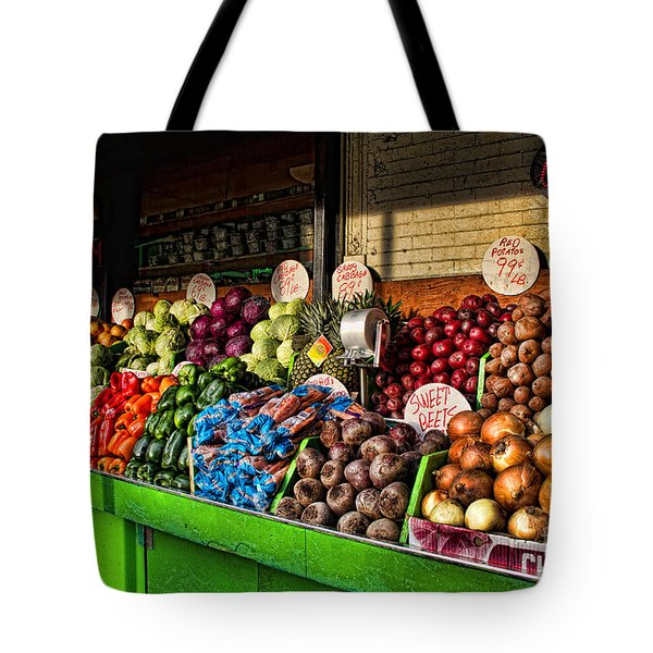 Greenwich Village Market Tote Bag