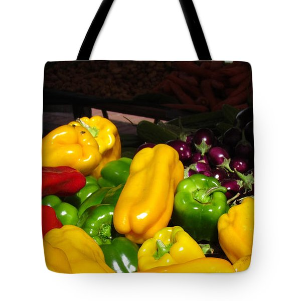 Vegetable Table Tote Bag