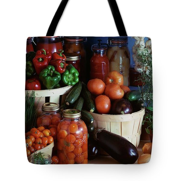 Vegetables For Pickling Tote Bag