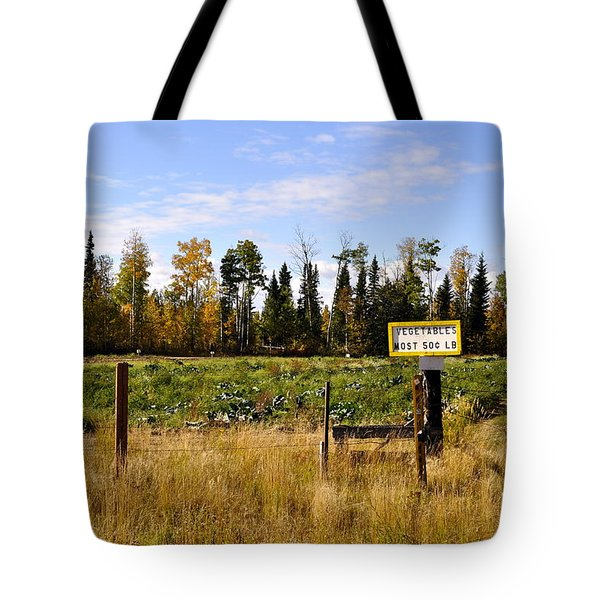 Tote Bag featuring the photograph Vegetables For Sale by Cathy Mahnke