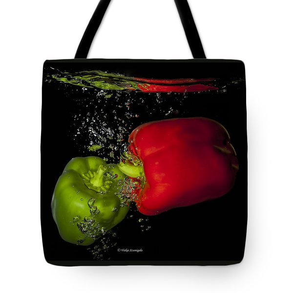Veggie Bath Tote Bag