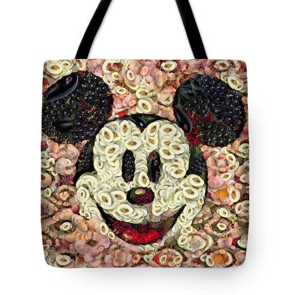 Veggie Mickey Mouse Tote Bag by Paulette B Wright