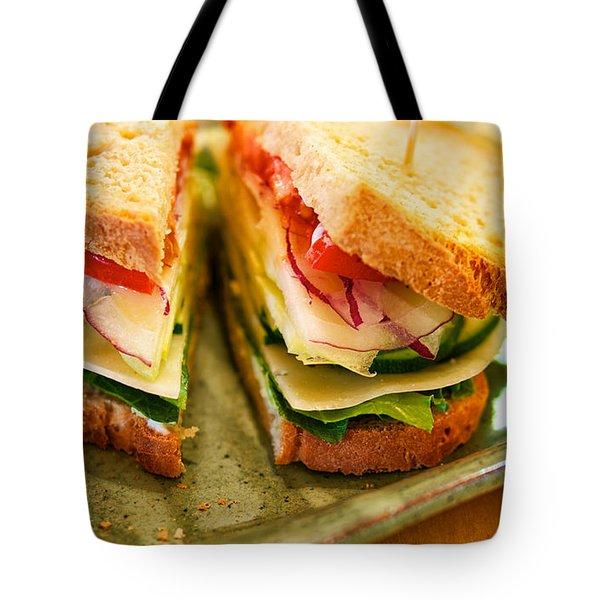 Veggie Sandwich Tote Bag