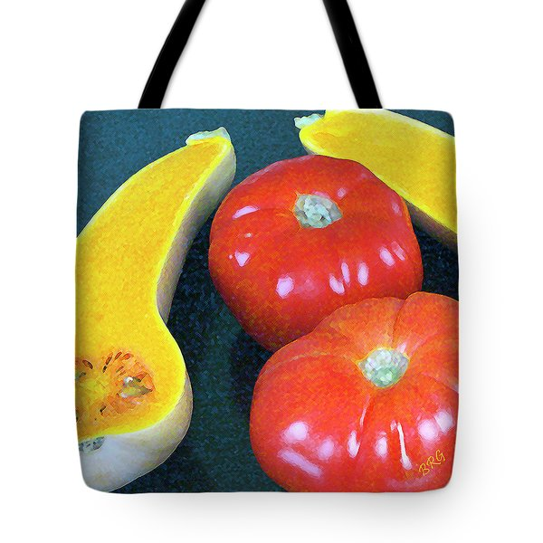 Veggies And Colors Tote Bag by Ben and Raisa Gertsberg