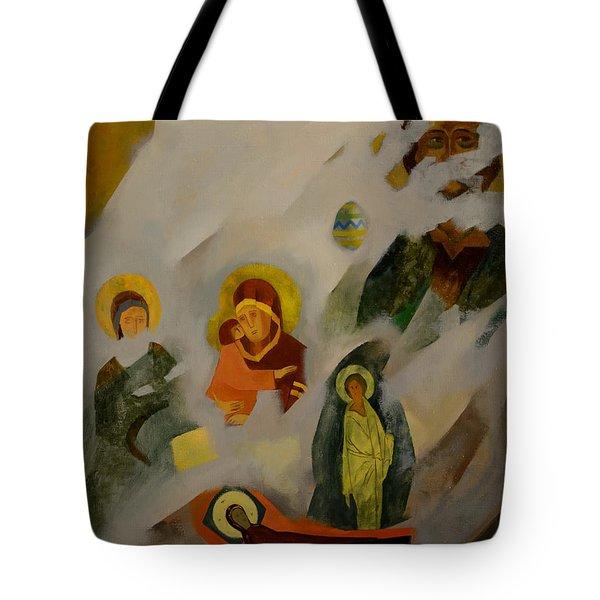 Veiled Tote Bag by Jukka Nopsanen