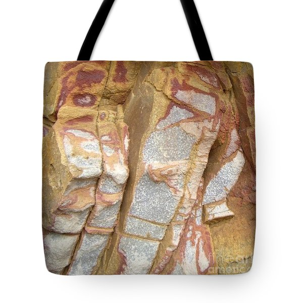 Veined Rock Tote Bag by Barbie Corbett-Newmin