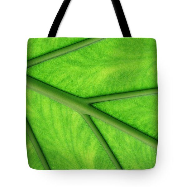 Tote Bag featuring the photograph Veins Of Life by Judy Whitton