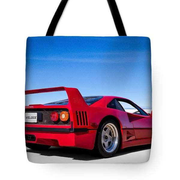 Veloce Equals Speed Tote Bag