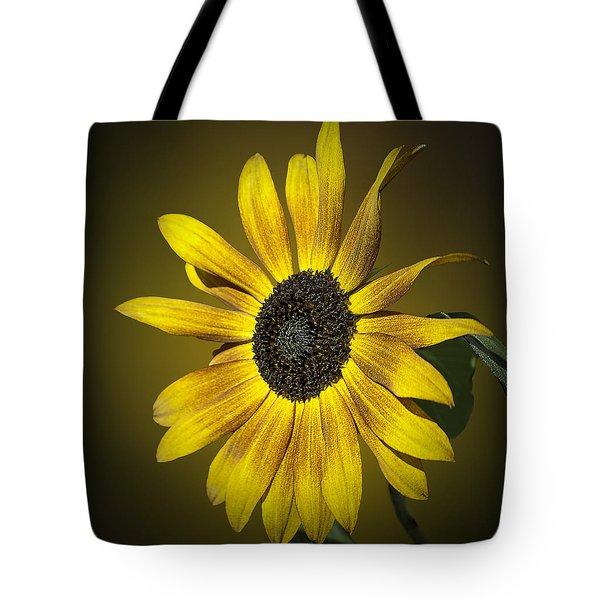Velvet Queen Sunflower Tote Bag