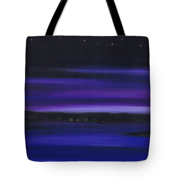 Velvet Sky Tote Bag by Kenneth Clarke