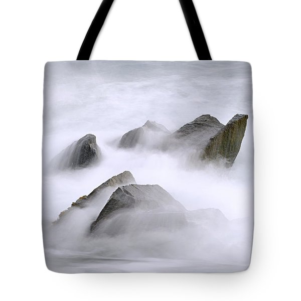 Velvet Surf Tote Bag by Marty Saccone