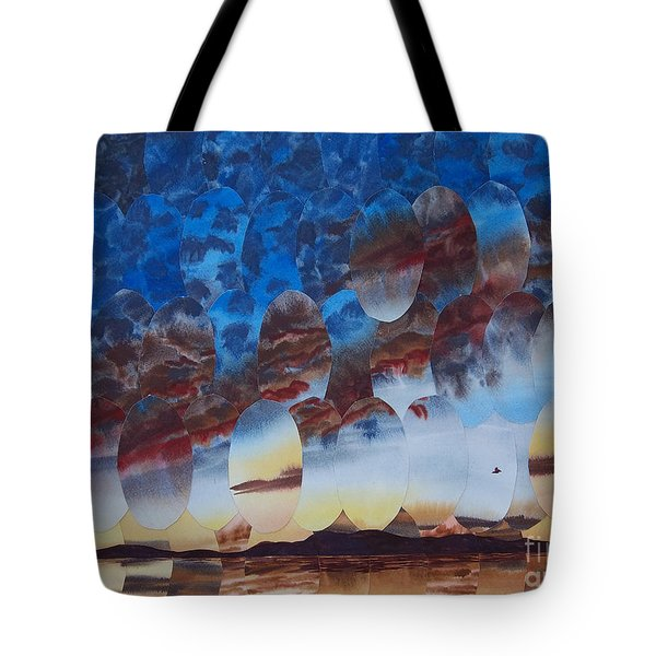 Velvet Virga Tote Bag by Jeni Bate