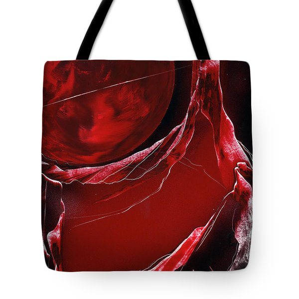 Tote Bag featuring the painting Velveteer by Jason Girard