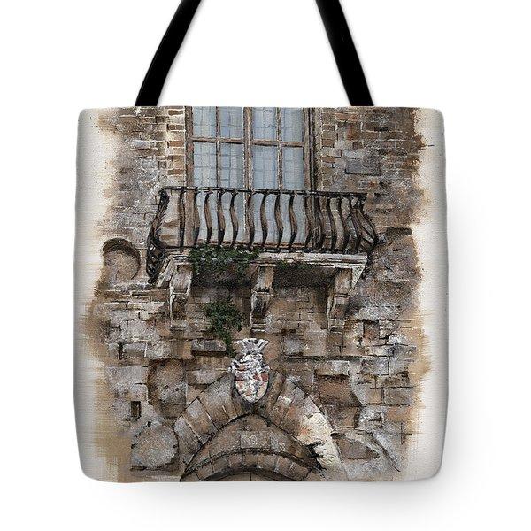 Venetian Balcony 02 Elena Yakubovich Tote Bag
