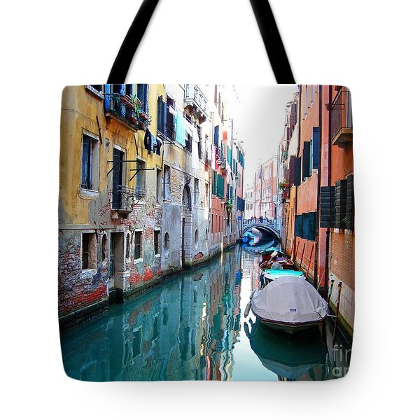 Venetian Calm Tote Bag