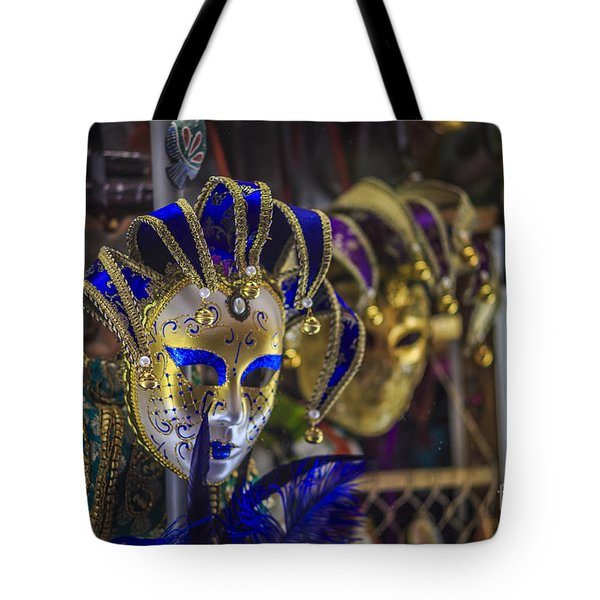 Venetian Carnival Masks Cadiz Spain Tote Bag