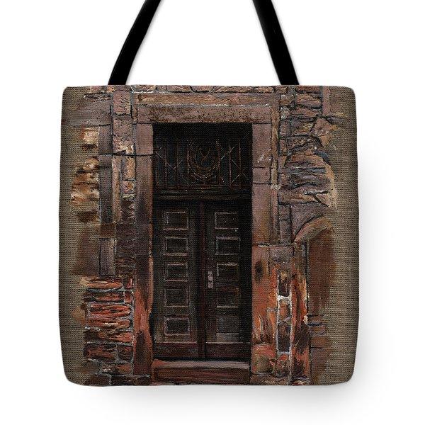 Venetian Door 02 Elena Yakubovich Tote Bag by Elena Yakubovich