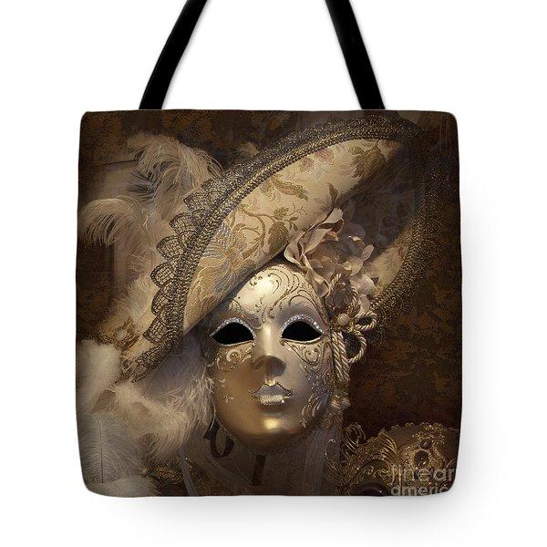 Venetian Face Mask F Tote Bag
