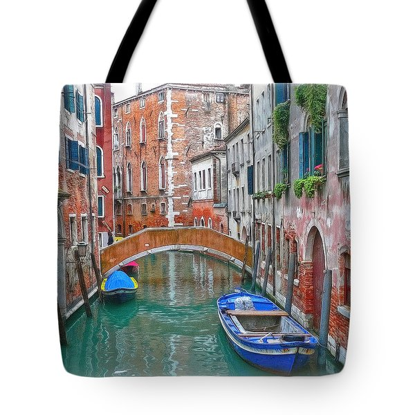 Tote Bag featuring the photograph Venetian Idyll by Hanny Heim