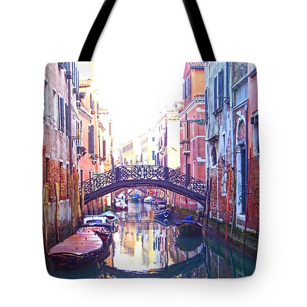 Venetian Reflections Tote Bag