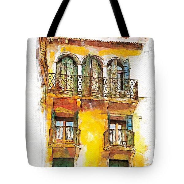 Radiant Abode Tote Bag