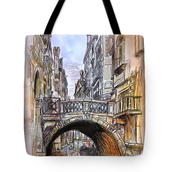 Venice 2 Tote Bag