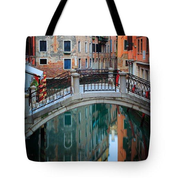 Venice Bridge Tote Bag by Inge Johnsson