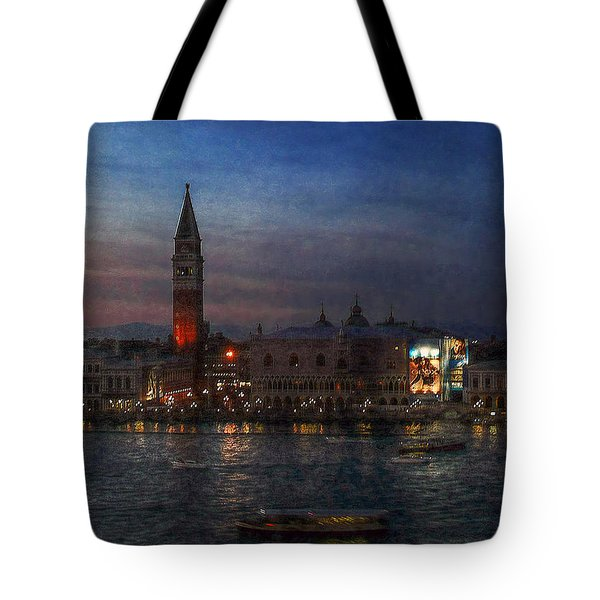 Tote Bag featuring the photograph Venice By Night by Hanny Heim