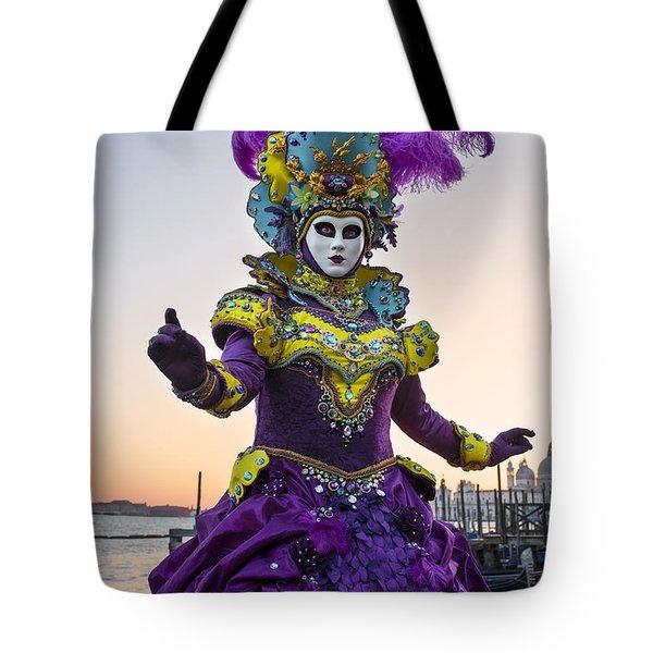 Venice Carnival Iv Tote Bag