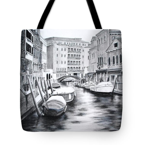 Venice City Of Love Tote Bag