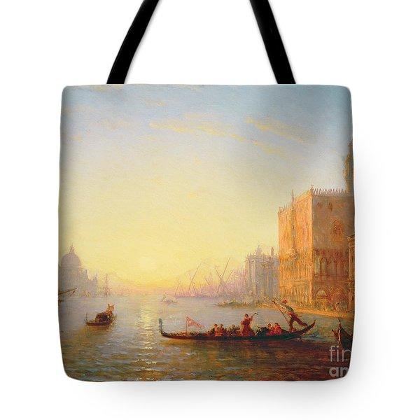 Venice Evening Tote Bag