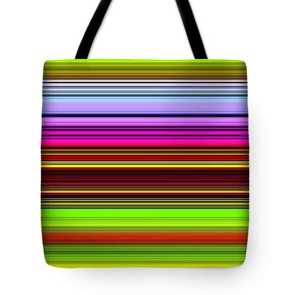 Venice Flower Abstract Tote Bag by Chuck Staley