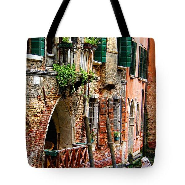 Venice Getaway Tote Bag by Mariola Bitner