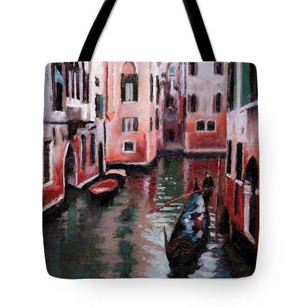 Venice Gondola Ride Tote Bag