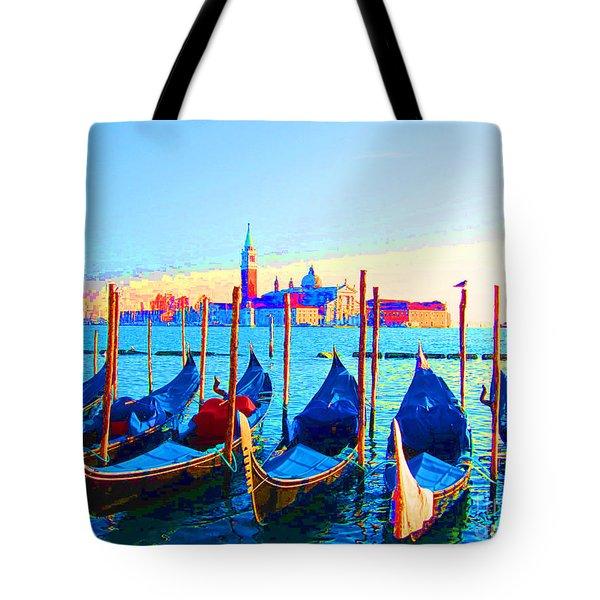 Venice Hues Tote Bag