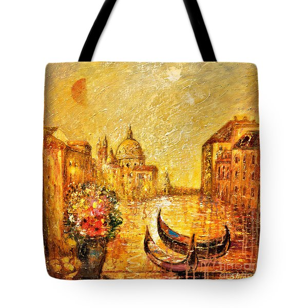 Venice II Tote Bag by Shijun Munns