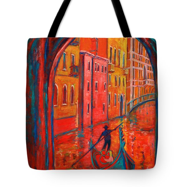 Venice Impression Viii Tote Bag