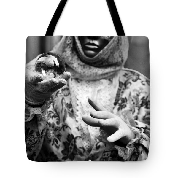 Venice In A Sphere Tote Bag