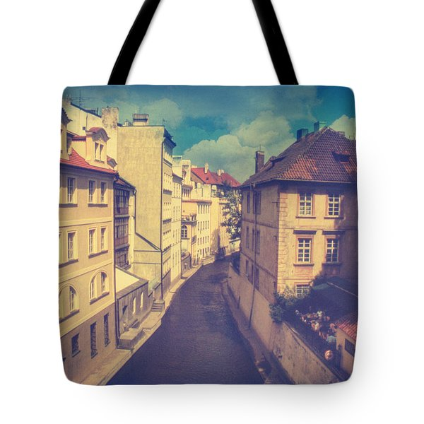Venice In Prague Tote Bag by Taylan Apukovska