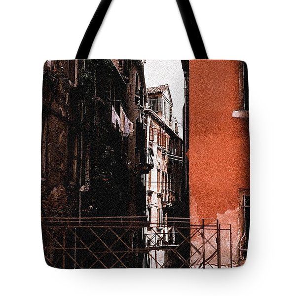 Tote Bag featuring the photograph A Chapter In Venice by Ira Shander