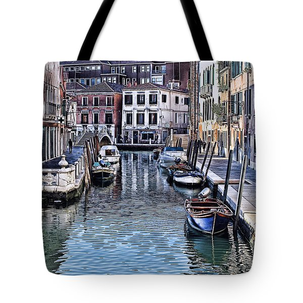 Venice Italy Iv Tote Bag