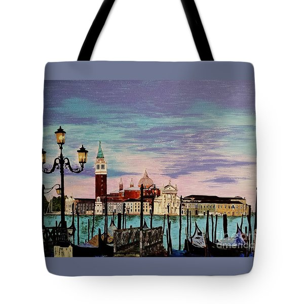 Venice  Italy By Jasna Gopic Tote Bag by Jasna Gopic
