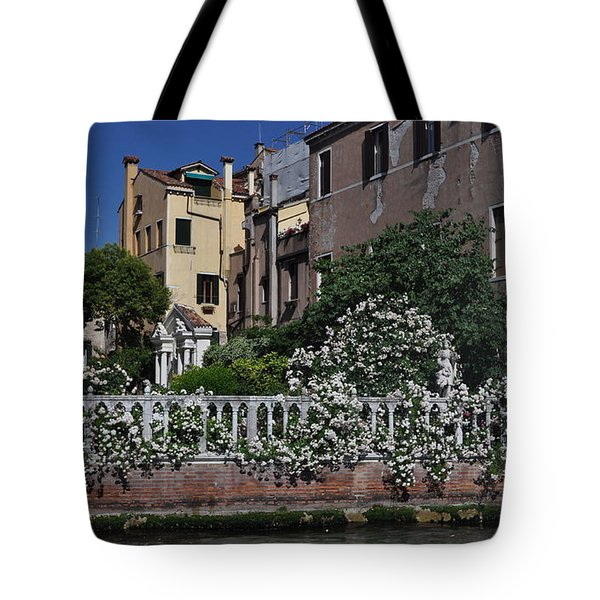 Venice Italy Tote Bag by Teresa Tilley