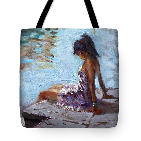 Venice Reflections Tote Bag by Ylli Haruni