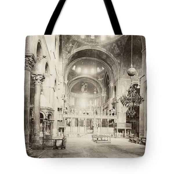 Venice St Tote Bag