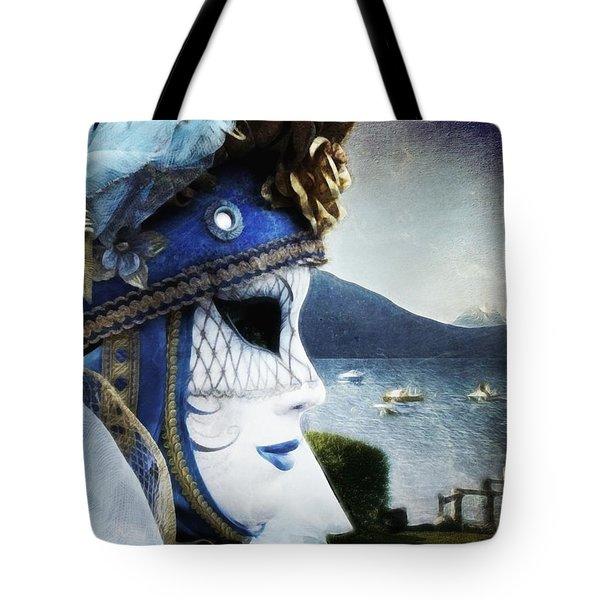 Venitian Carnival - La Dame Du Lac Tote Bag