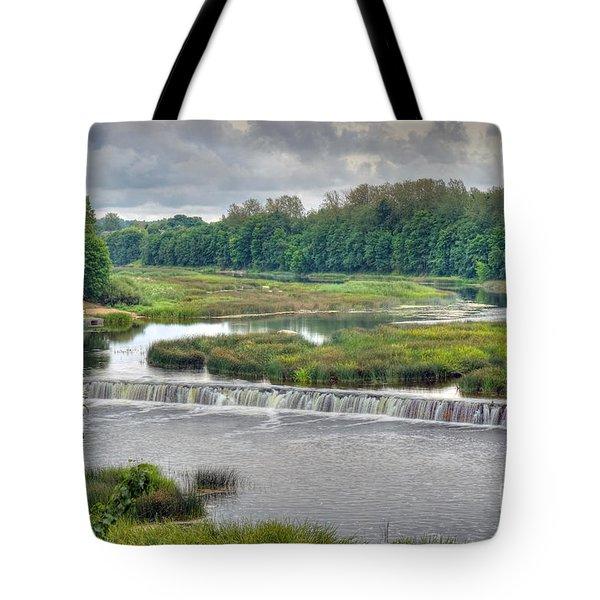 Venta Waterfall Kuldiga Latvia Tote Bag