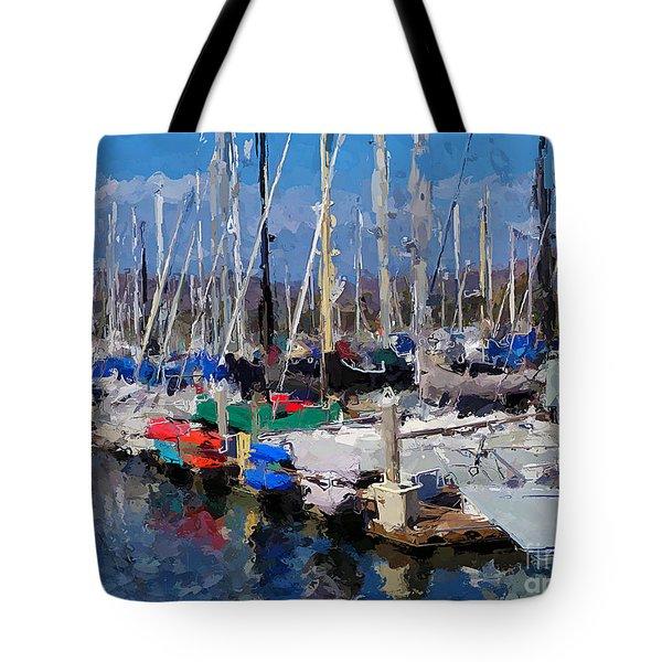Ventura Harbor Village Tote Bag